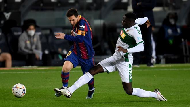 Lionel Messi vs Elche