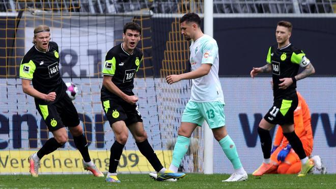 Gio Reyna goal vs Werder
