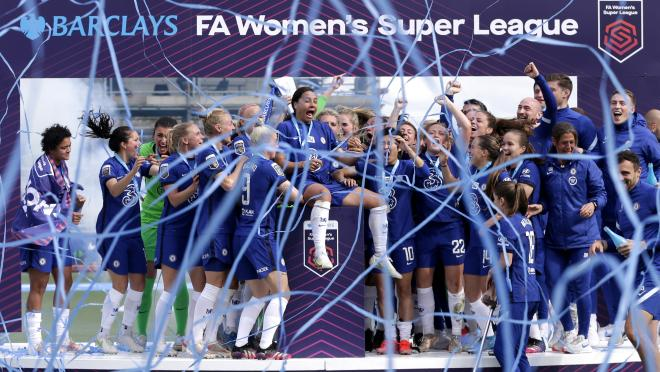 Chelsea FA WSL 2021 title