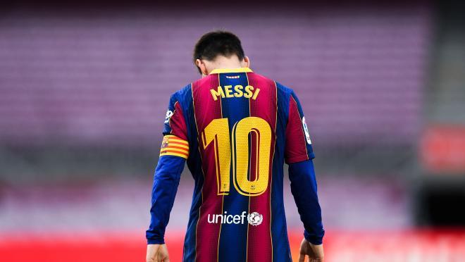 Messi se va del Barcelona