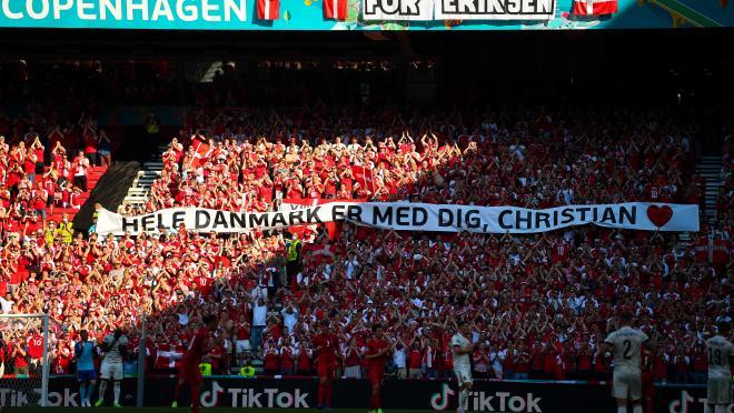 Homenaje a Christian Eriksen