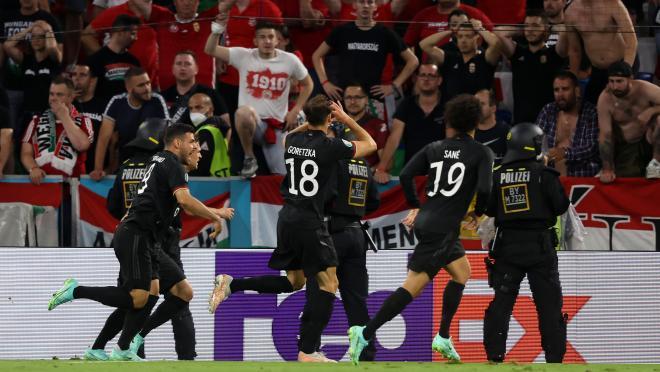 Leon Goretzka goal vs Hungary