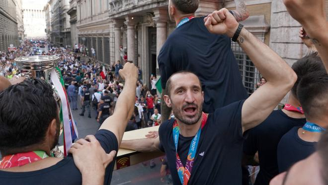 Italy victory parade for Euro 2020