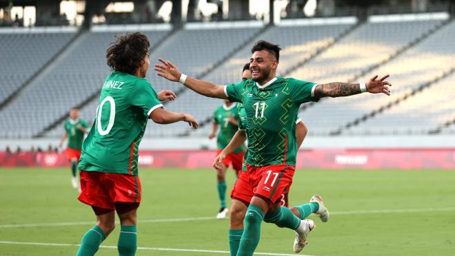 Goles de México vs Francia
