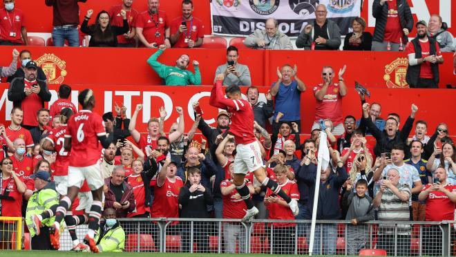 Goles Cristiano Ronaldo vs Newcastle