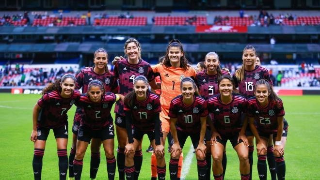 Convocatoria México Femenil vs Argentina