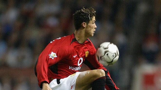 Old Cristiano Ronaldo YouTube video