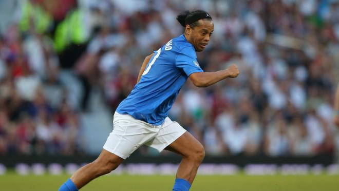 Ronaldinho friendly match