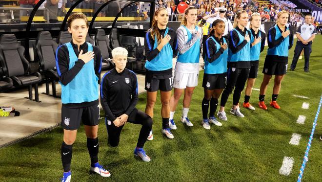 US Soccer kneeling ban