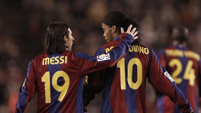 Equipo Ideal Barcelona En La Era Messi