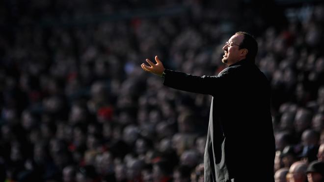 Everton's Rafa Benitez