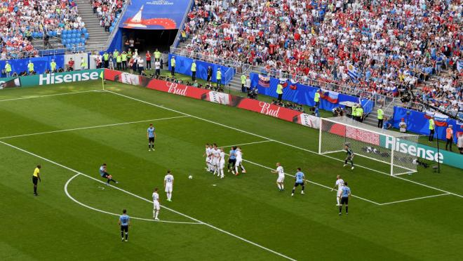 Luis Suarez goal vs Russia