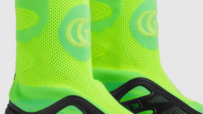 Gucci indoor soccer shoe