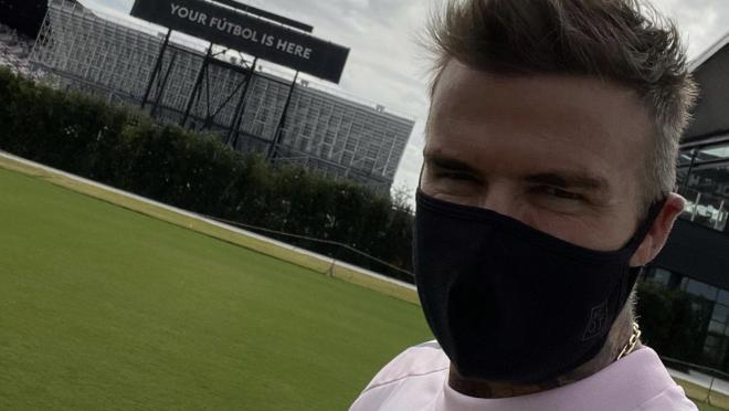 David Beckham now