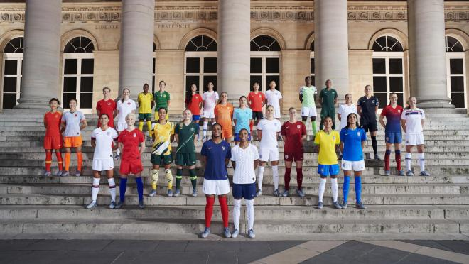 Women's World Cup jerseys
