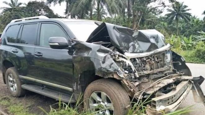 Samuel Eto'o car crash
