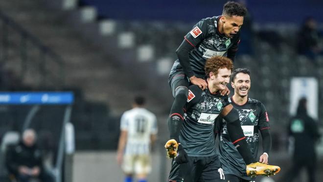 Josh Sargent goal vs Hertha