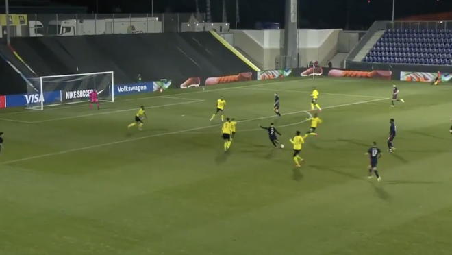 Sergino Dest goal vs Jamaica