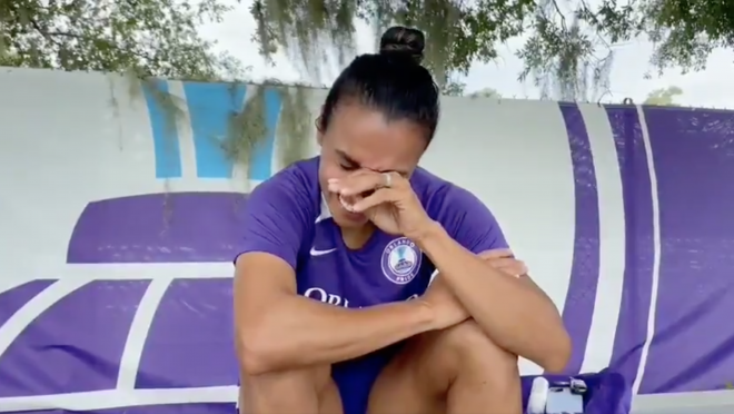 Marta Reaction To Olympic Roster