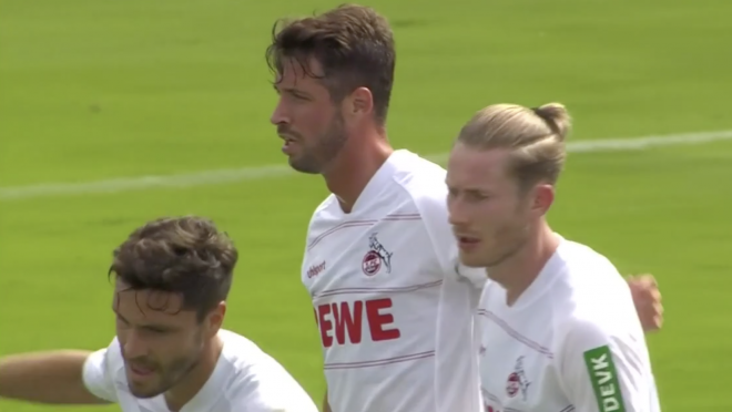 Mark Uth Goal Vs Bayern Munich