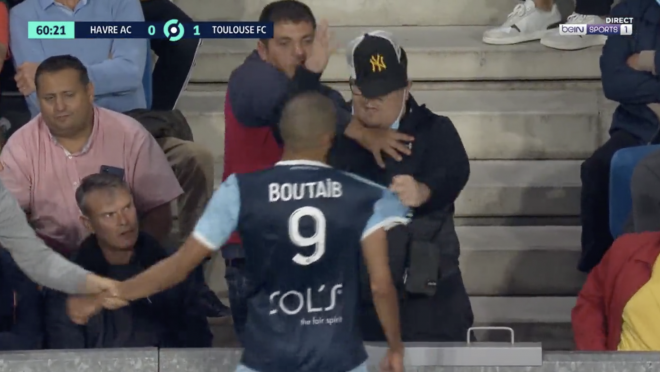 Boutaib Red Card