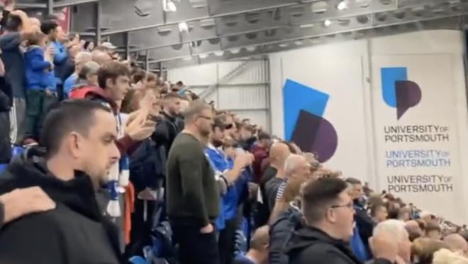 Portsmouth Fans Chant