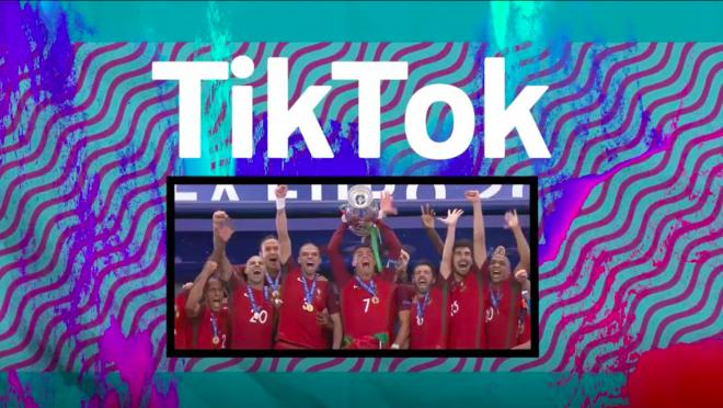 TikTok Euro 2020