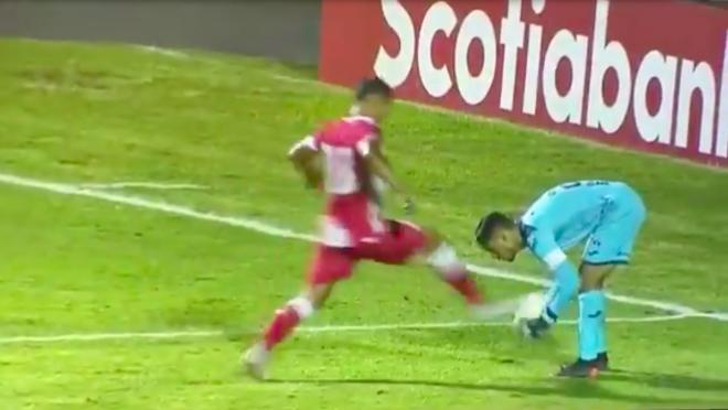 Goalkeeper possession rule