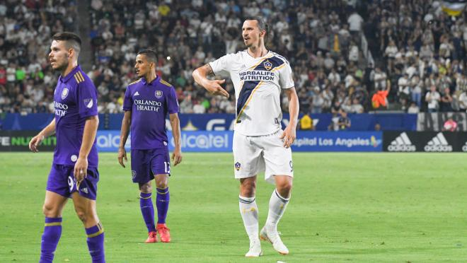 Zlatan Ibrahimovic LA Galaxy contract
