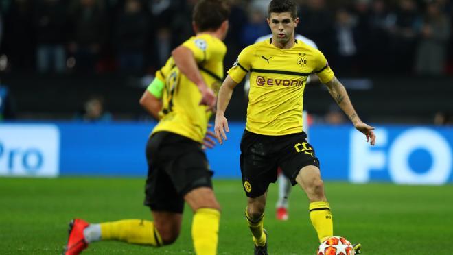 Christian Pulisic Dortmund highlights