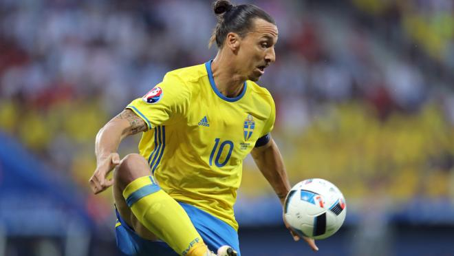 Zlatan Ibrahimovic Sweden World Cup Support