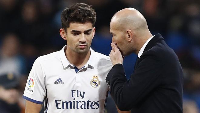 Enzo and Zinedine Zidane