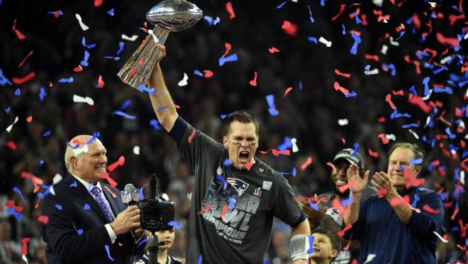 Tom Brady Wins Superbowl