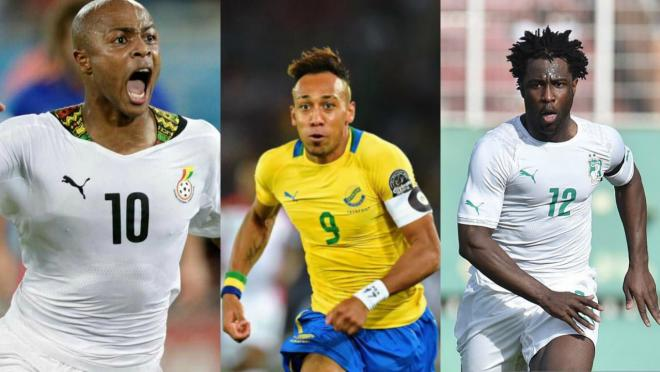 The stars of the 2017 Africa Cup of Nations