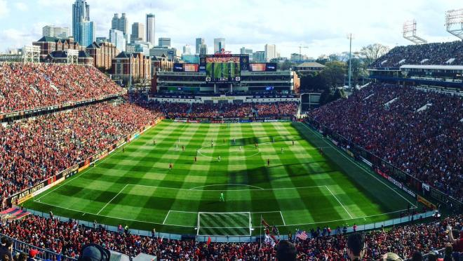 Atlanta United's Bobby Dodd Stadium