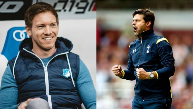 Julian Nagelsmann and Mauricio Pochettino