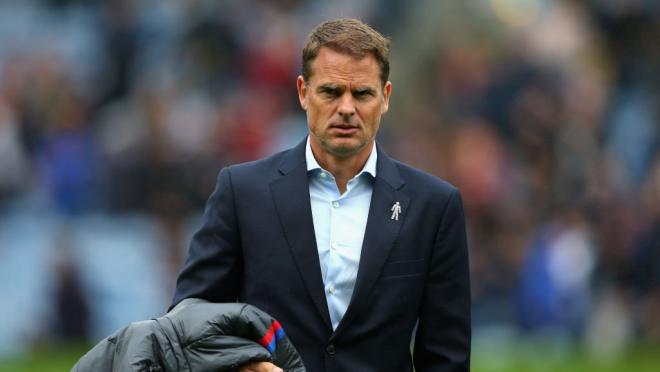 Crystal Palace Sack Frank De Boer