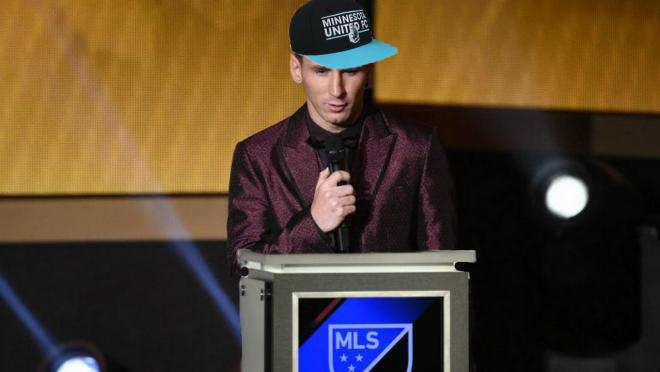 Barcelona in the MLS SuperDraft