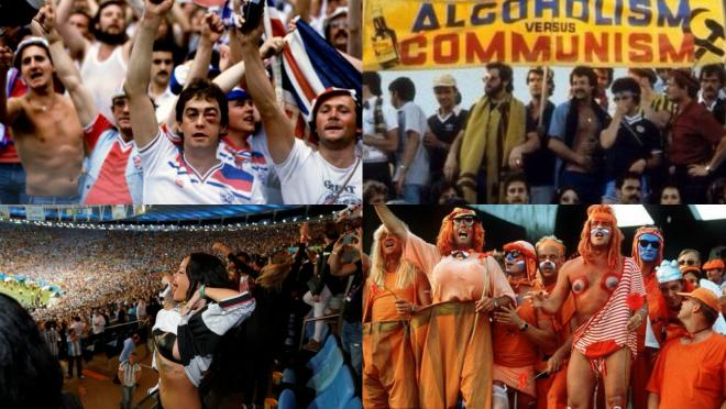 World Cup Fan Photos