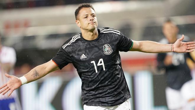 Chicharito Mexico National Team Goal