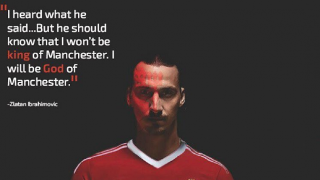Zlatan is King of Manchester