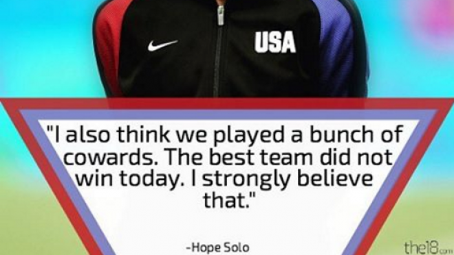 Hope Solo On Sweden