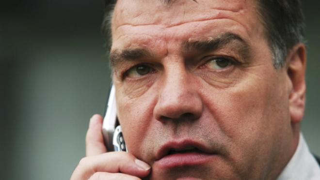 Sam Allardyce as the new England Manager