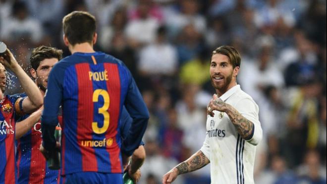 Ramos trolls Piqué with UCL invite