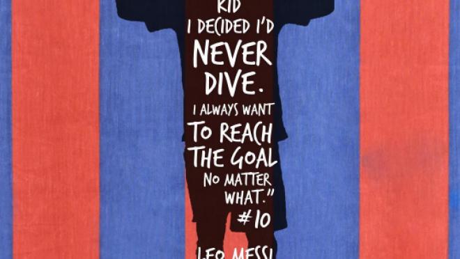 Lionel Messi Flop Quote