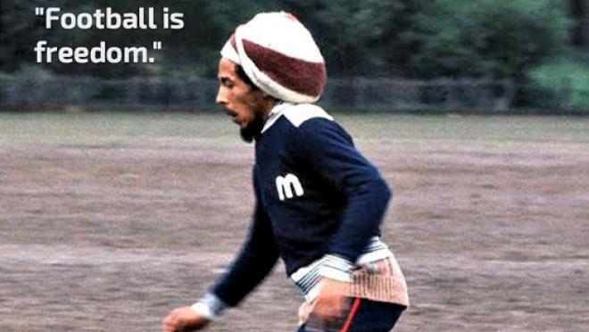 Bob Marley Football is Freedom