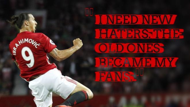 Zlatan Needs Haters