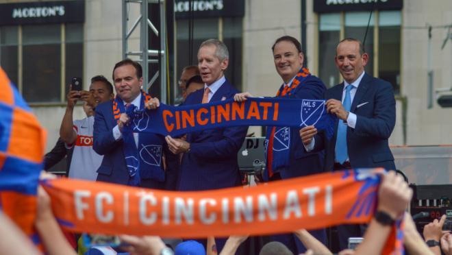 MLS welcomes FC Cincinnati