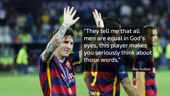 Ray Hudson On Lionel Messi