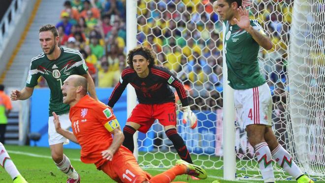 Arjen Robben Dive